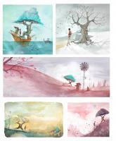 , Loren Bes  artiste peintre, illustrations